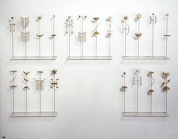 Fausto Melotti • Italian artist • the game of pairs •
