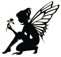 male fairy silhouette - Google Search                                                                                                                                                      More