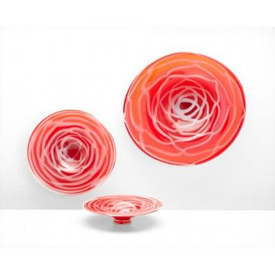 The Sophia Vase Bowl by Cyan Design - another refreshing glass piece - for table top or wall mounted - gorgeous!
