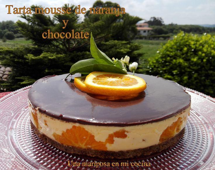 Hoy os traigo una tarta sencilla y sin complicaciones ,con una fruta muy de temporada como es la naranja y este año hay muchisimas verda...