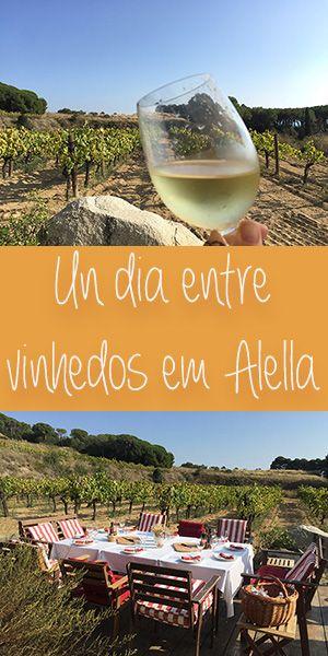 Alella Fica no Maresme, pertinho de Barcelona. Lá tem vinhedos, montanha e mar. É um ótimo lugar para fazer #enoturismo. #Barcelona #maresme #alella #DOalella