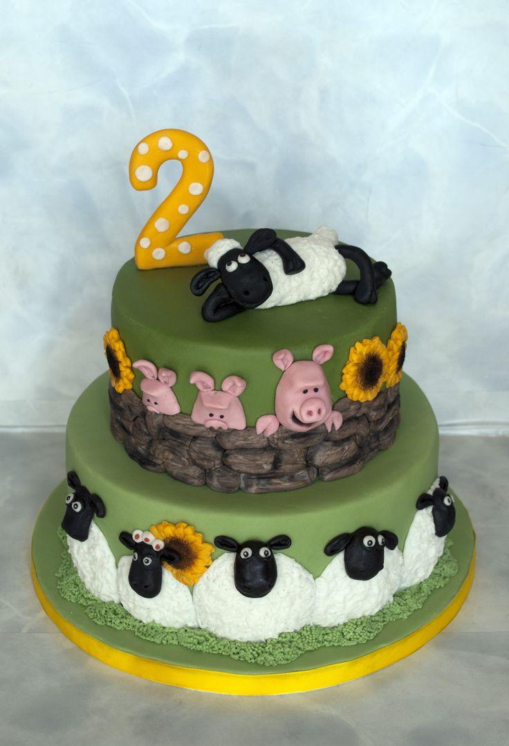 Dort s ovečkou Shaun. Shaun the sheep Cake.