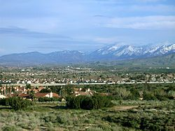 Palmdale, California....my house is not too far from this. this is where i spent my childhhod....its not grand or ostentatious but its home and every child creates their own fun