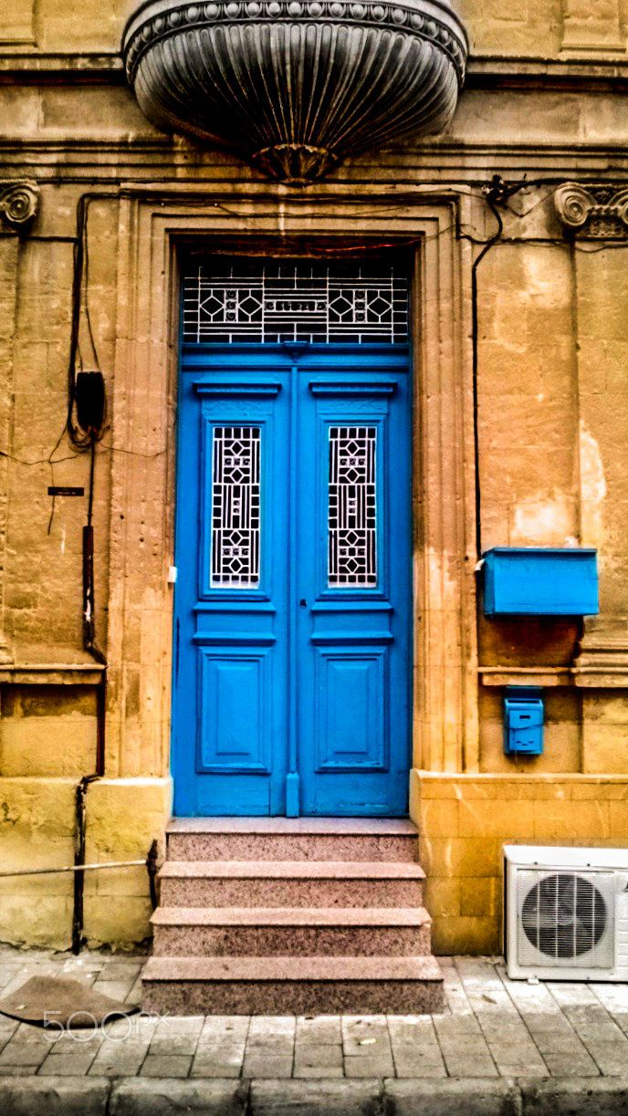 Blue Door, Nicosia, Cyprus