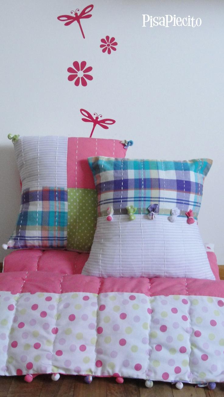 1000 images about patchwork y quilting pie de cama bed - Pie de cama ...