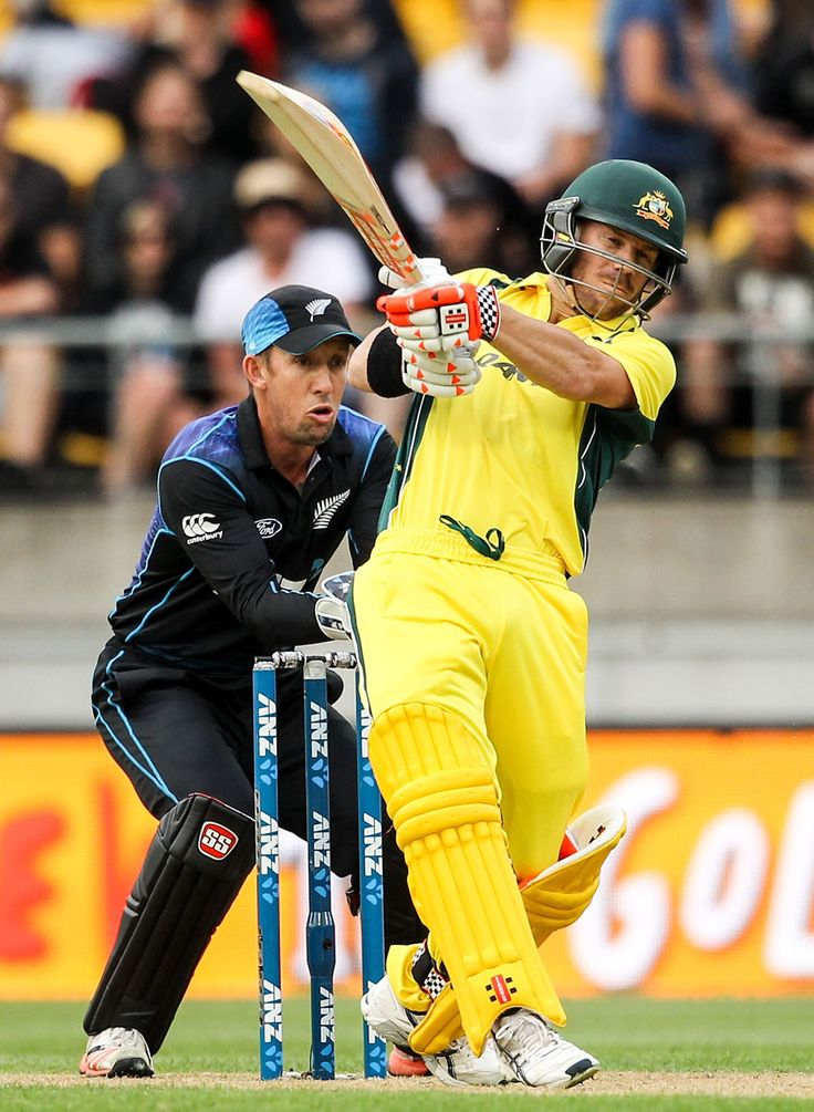 David Warner, Mitchell Marsh guide #Australia to a 4-wicket win over New Zealand.  Play more Fantasy Cricket and show your skill with win fantasy credit only at https://www.draftindia.in