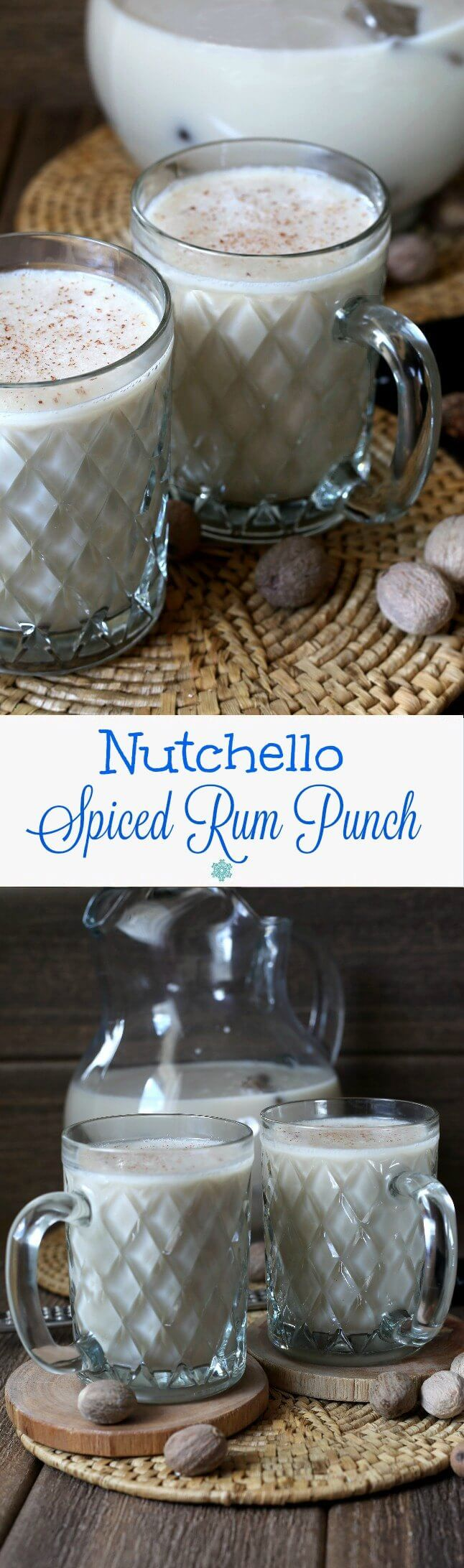 Nutchello Spiced Rum Punch only has 3 ingredients and it is a uniquely tasty and refreshing punch! It goes down so easy with a sweet and nutty spiced kick. @lovemysilk  #LoveMySilk