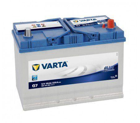VARTA – BATTERIE VARTA BLUE DYNAMIC G7: Price:124Spécification 12v 95ah 830CCA Type de Borne – A Disposition –Positif Droite  Dimensions…