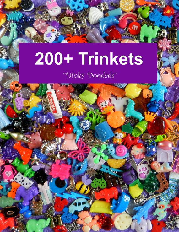 SALE  200 Trinkets for Speech Therapy Autism helps by DinkyDoodads