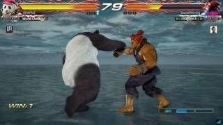 ELITE GAMING: Tekken 7 Case Study  Dealing With Akuma SPAM