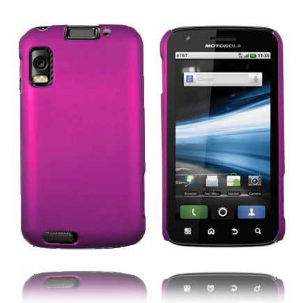 Hard Shell (Hot Rosa) Motorola Atrix 4G Deksel