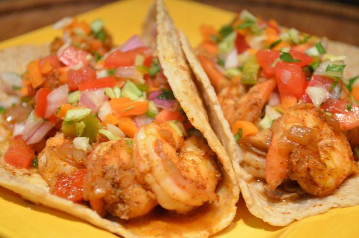 Quick Shrimp Tacos
