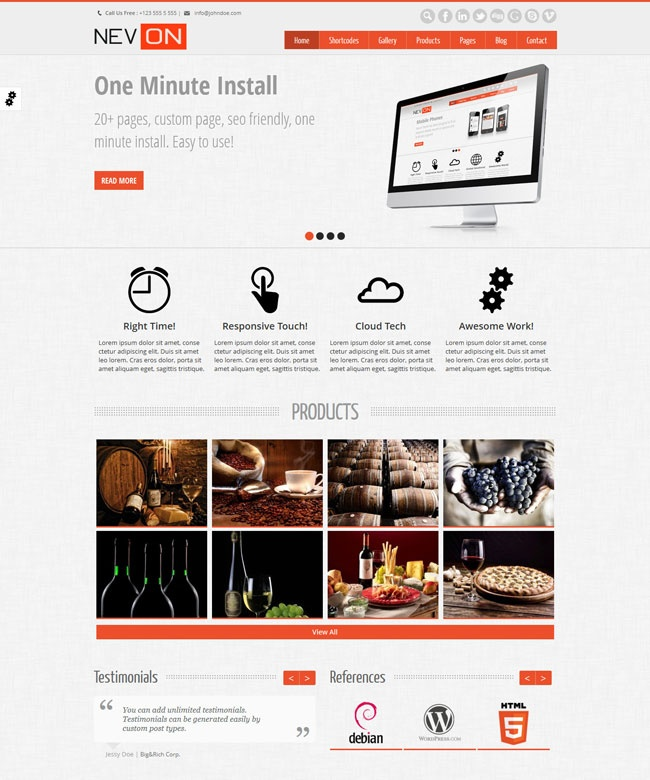 Are you looking for professional wordpress theme for business, corporate or gallery site