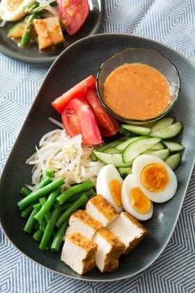 ガドガドサラダ by マイハニーキッチン [クックパッド] 簡単おいしい ...