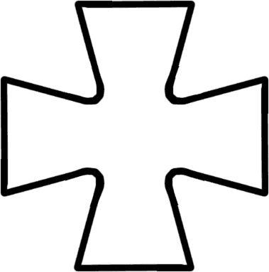 mijter kruis knutselen