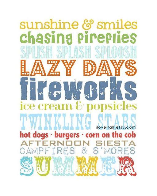 free summer printable.