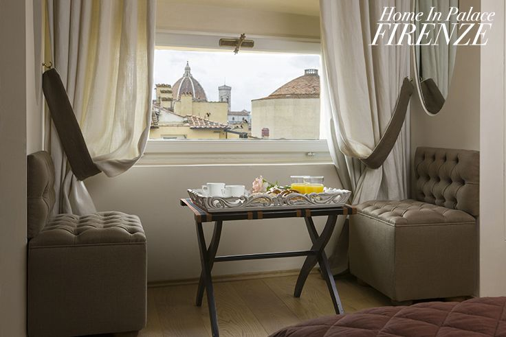 Room with a view, Botticelli #suite @Home in Palace #Florence #Italy