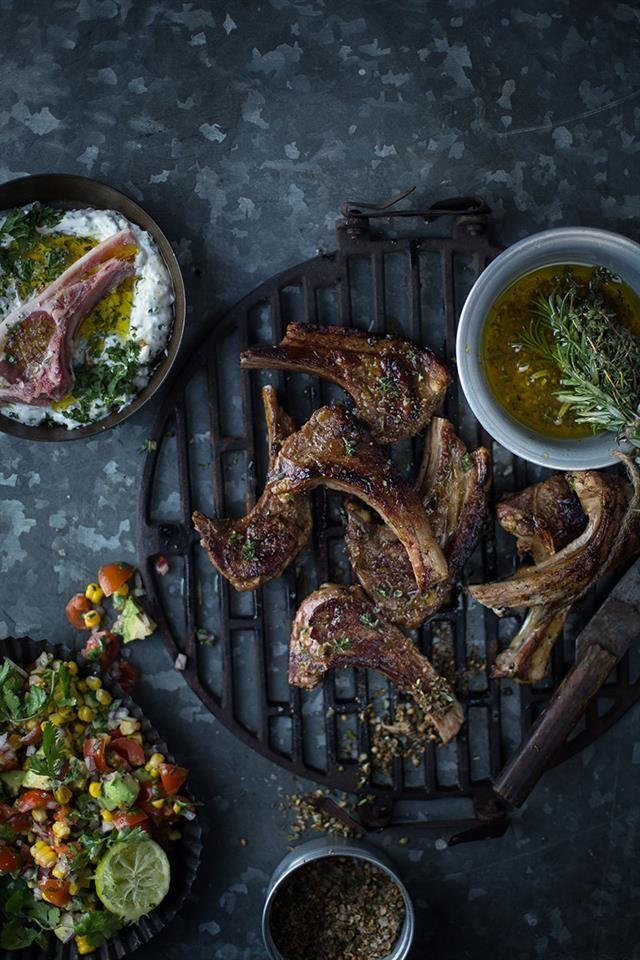 Lamb chops!  #Braai
