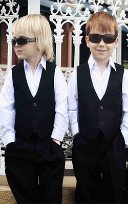 Classy and timeless black boys suit.Get it now at sale price!  #blacksuit #boyssuit #blackvest #blackboyssuit #kidsuit #childrensuits