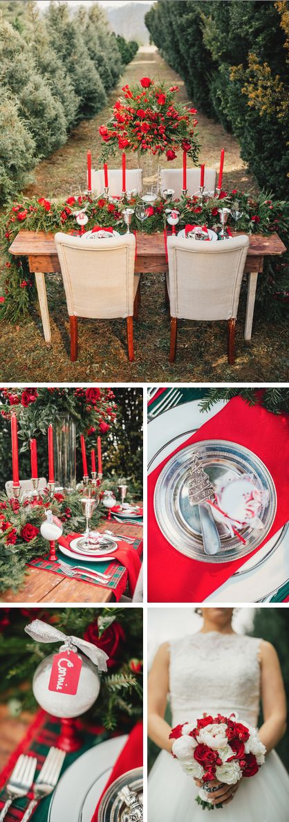Winter wedding ideas from The Bride Link, JoPhoto, Custom Love Gifts & LB Floral: