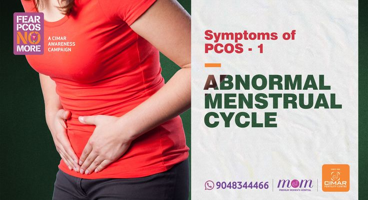 One of the most common symptoms of Polycystic Ovary Syndrome (PCOS) is an irregular period as higher levels of androgens and excess insulin can disrupt the monthly cycle of ovulation and menstruation. Many women who suffer from PCOS experience 'irregular' or 'no period' at all. In normal case, the average menstrual cycle is 28 days with one ovulation though experts consider periods between 21 and 35 days also as 'normal'. Thus, an 'irregular' period cycle can be loosely defined as: eight or…