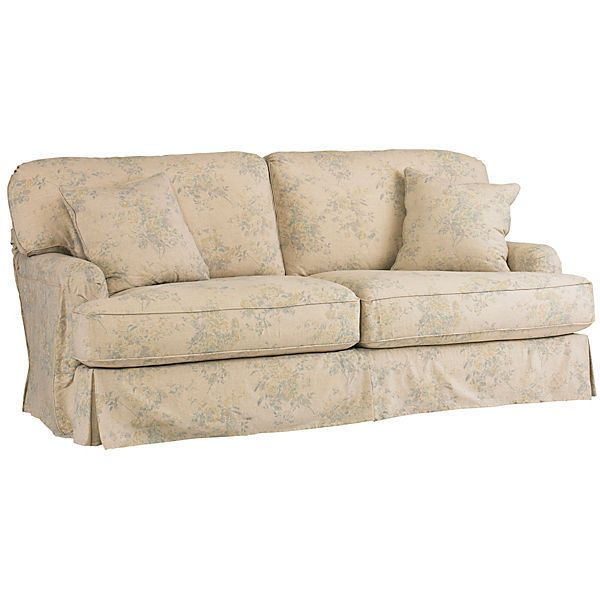 Shabby Chic Dover 83 Slipcovered Sofa Multi Sofas Loveseats 2 999 Liked On Polyvore