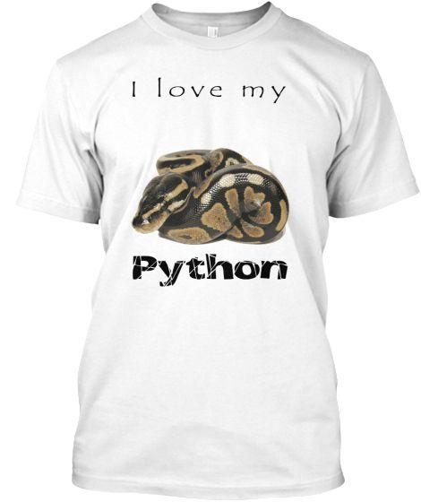 I love my Python