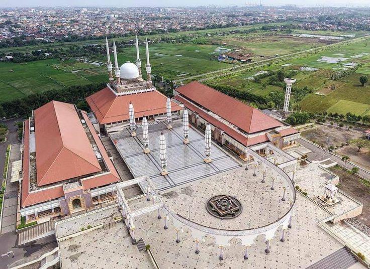Masjid Agung Jawa Tengah – Wisata Religi di Kota Semarang
