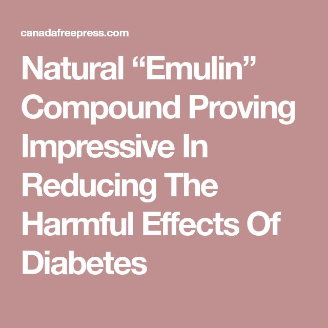 """Natural """"Emulin"""" Compound Proving Impressive In Reducing The Harmful Effects Of Diabetes"""