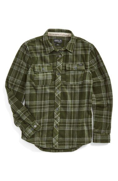 O'Neill 'Glacier' Woven Plaid Shirt (Toddler Boys, Little Boys & Big Boys) available at #Nordstrom