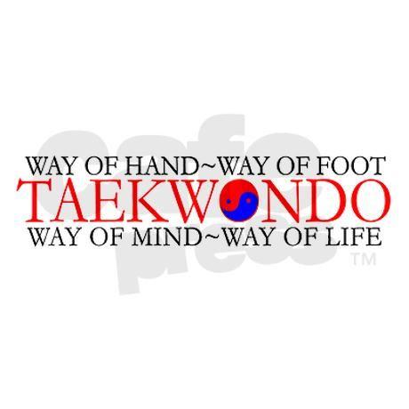Tae Kwon Do Philosophy Ornament (Round) by mapagoda