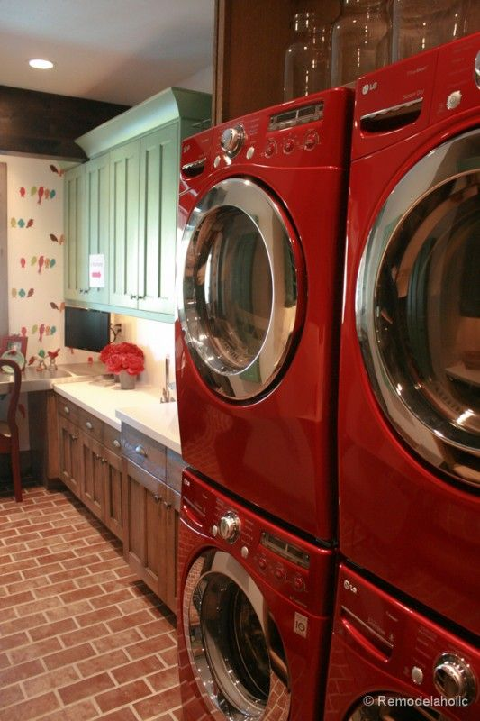 1000 Ideas About Painted Washer Dryer On Pinterest