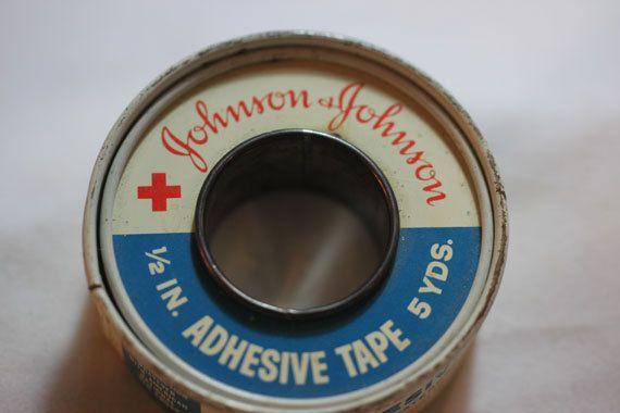 Adhesive tape tin packaging