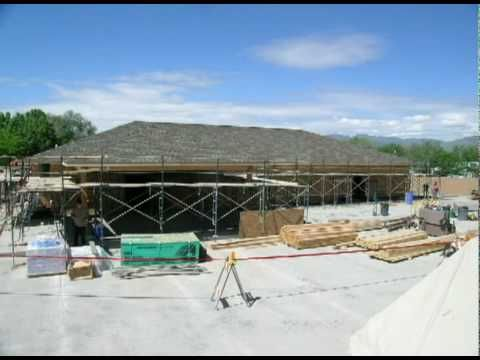 Time Lapse of a Kingdom Hall Quick Build This is a time lapse video of a Kingdom Hall of Jehovah's Witnesses built in 5 days. This was taken in Salt Lake City, Utah