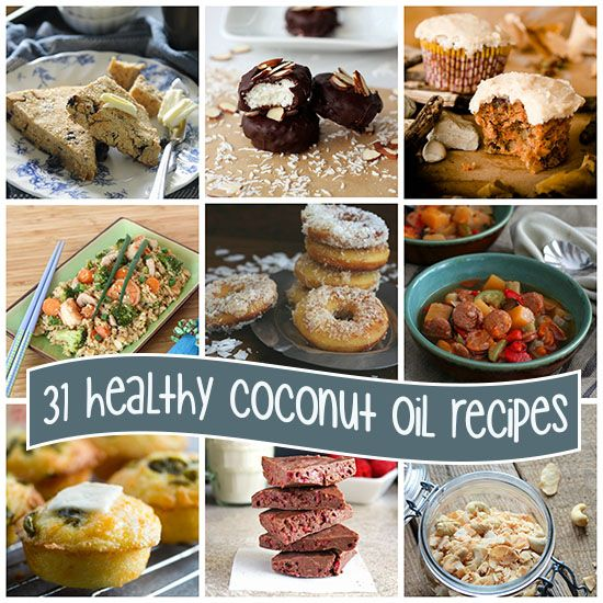 31 Low Carb Paleo Coconut Oil Recipes from alldayidreamaboutfood.com! Some great ideas!