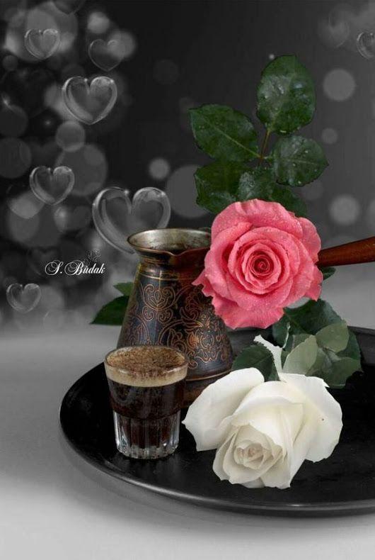 кофе шоколад и цветы картинки анимация эффект