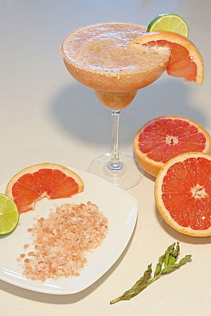 Grapefruit Mint Margaritas