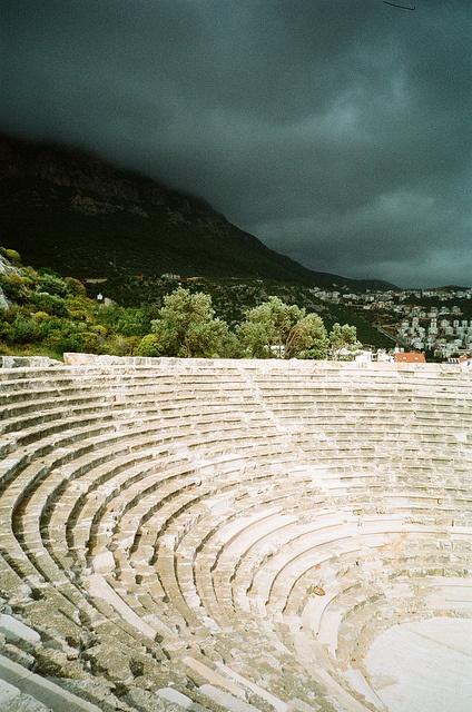 antique theater, Kas, Turkey