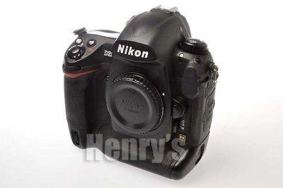 NIKON D3X 24.5MP FX CMOS DIGITAL SLR CAMERA BODY/THREE-YEAR WARRANTY/USED