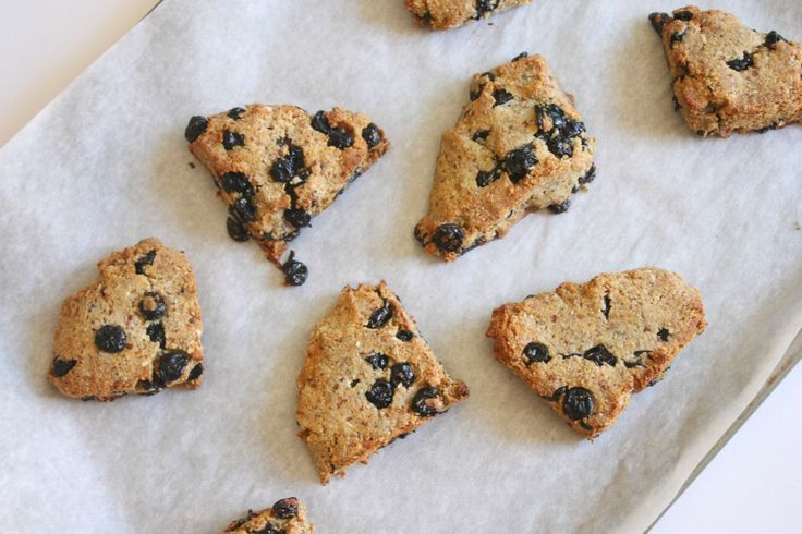 Flourless Blueberry Scones | Wheat doesn't like me... | Pinterest