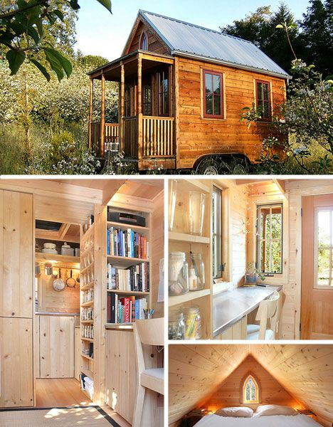 229 best tiny house images on Pinterest Log houses, Small homes