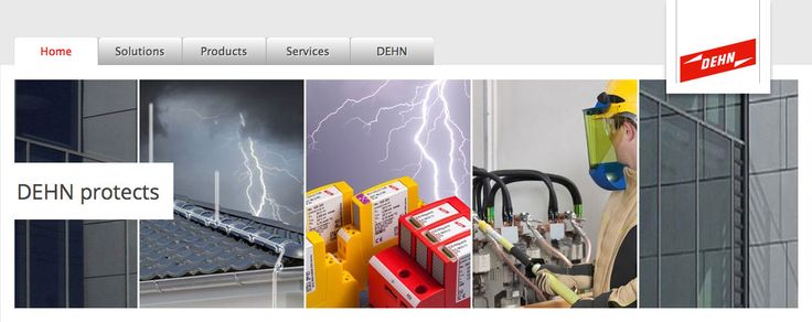 To protect lightning system  dehn-international provide guide in which different contents and Application proposals are provided.you can check details of contents and Applications proposals on website.
