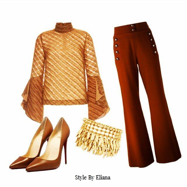Thursday Look of the Week  Inspired by Camel colours and latest trending garments, I hope you like the look I have put together.  #stylebyeliana #womenfashion #lookoftheweek #camel #trends #fashion #women
