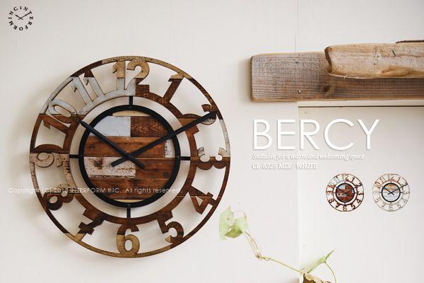 【インターフォルム】BERCY[ベルシー]■壁掛け時計:【smtb-k】【kb】:INTERFORM  http://item.rakuten.co.jp/interform-inc/cl-8325/