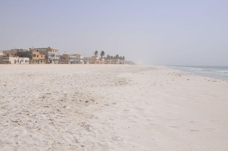 La plage de Salalah, à Oman