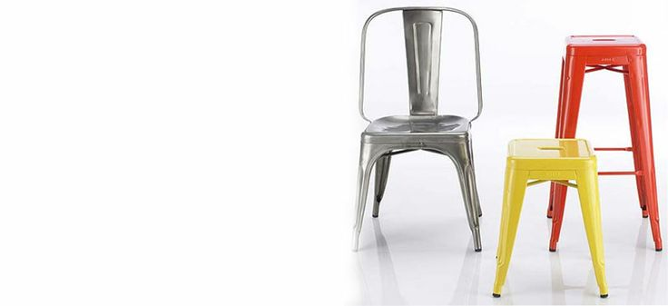 Love these industrial stools! - buy online here