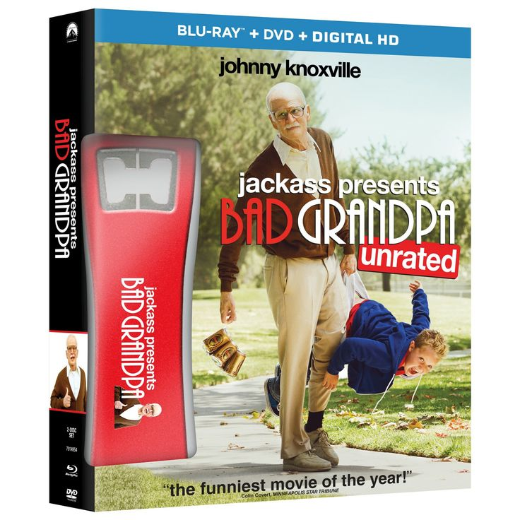 Jackass Presents: Bad Grandpa (Blu-ray/Dvd) - Only at Target