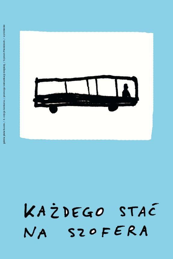 ZOSTAW SAMOCHÓD - DAJ ODETCHNĄĆ MIASTU / LEAVE THE CAR - LET THE CITY BREATHE 6. edycja konkursu Galerii Plakatu AMS, temat: promocja komunikacji miejskiej (2006)/ 6th edition of the AMS Poster Gallery competition, theme: promotion of the public transportation (2006) SZYMON PRANDZIOCH - WYRÓŻNIENIE