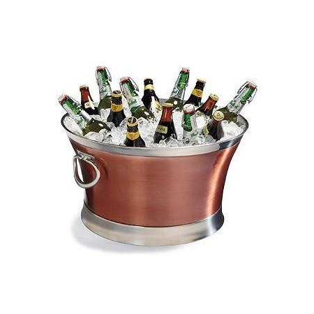 """Optima Stainless Steel Beverage Tub - 17"""" - Frontgate"""