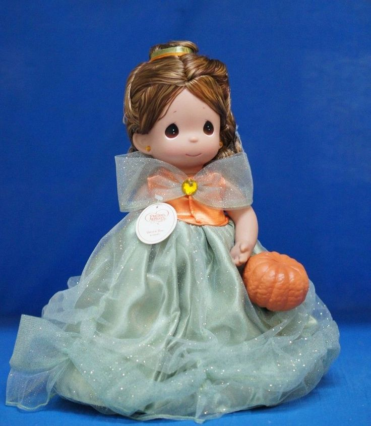 Belle Beauty Boo Fall 2014 Doll Precious Moments Disney Princess Signed 4944 #PreciousMoments #VinylDolls